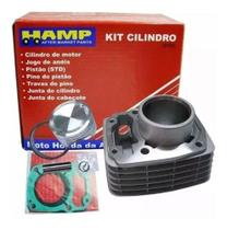 Kit Cilindro Motor Cg 150 Titan Fan Bros 150 Hamp Original Honda