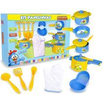 Kit Cozinha Infantil Panelinhas Da Galinha Pintadinha - Nig Brinquedos