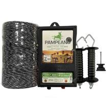 kit Eletrificador Rural Cerca Elétrica P/ Gado Boi Cães 250m
