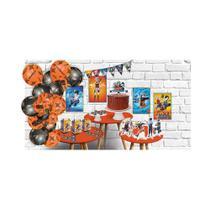 Kit Festa Decoração Só Um Bolinho Naruto Shippuden Completo - Festcolor