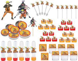Kit Festa Infantil Naruto 107 Peças (10 pessoas)