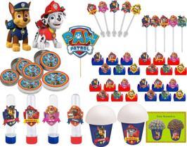 kit festa infantil Patrulha Canina 265 peças