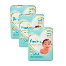 Kit Fralda Pampers Premium Care Mega Tamanho XG 78 Unidades