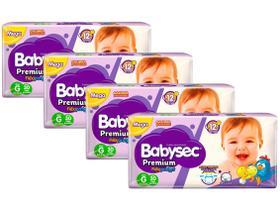 Kit Fraldas Babysec Premium Galinha Pintadinha
