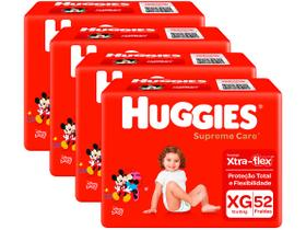 Kit Fraldas Huggies Supreme Care