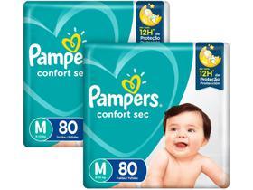 Kit Fraldas Pampers Confort Sec Tam. M 6 a 10kg