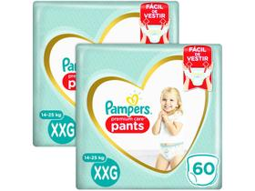 Kit Fraldas Pampers Premium Care Pants Calça