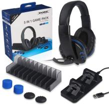 kit Game Pack 5 em 1 Compatível com PS4 PRO e PS4 Slim - DOBE