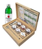 Kit Gin Tonica Tanqueray + 6 Especiarias + Dosador + Colher
