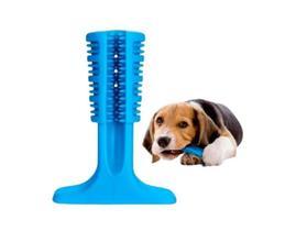 Kit Higiene Brinquedo Escova Dente Pasta Cão Cachorro Pet