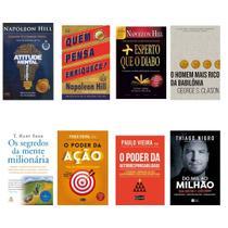 Kit livro Mais esperto que o diabo + do mil ao milhão + o homem mais rico da babilonia + 5 livros