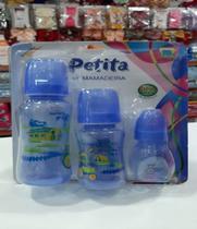 Kit Mamadeira Petita Estampada AZUL- 3422