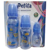 Kit Mamadeiras com 03 Peças - Petita