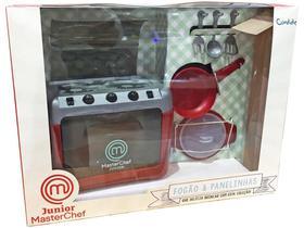 kit MasterChef Junior Fogão  Panelinhas - Candide