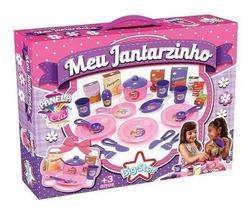 Kit Meu Jantarzinho Panelinhas De Brinquedo Big Star 24pçs