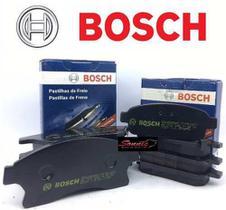 Kit Pastilha De Freio Dianteira E Traseira Cruze/Tracker Bosch BB1101/BB1102