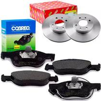 Kit pastilha e disco freio dianteiro - palio weekend / siena 2001 a 2010 - kit00985