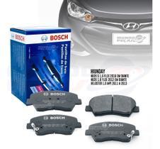 Kit Pastilha Freio Original Bosch Hyundai Hb20 1.6 Flex 2012 2013 2014 2015 2016 2017 2018 2019