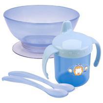 Kit Refeição Filhotes Azul Leão Petita 7740