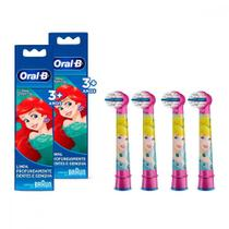 Kit Refil para Escova Elétrica Disney Princess 4 Unidades Oral-B