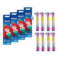 Kit Refil para Escova Elétrica Disney Princess 8 Unidades Oral-B