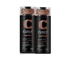 Kit Shampoo e Condicionador 300ml Curly Truss