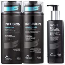 Kit Shampoo e Condicionador Infusion + Night Spa Truss
