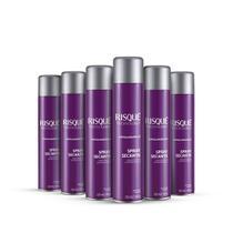 Kit Spray Secante Risqué Technology 300ml 6 unidade