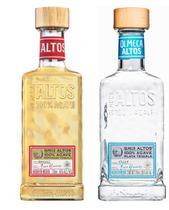 Kit Tequila Altos Plata 750ml + Tequila Altos Resposado750ml