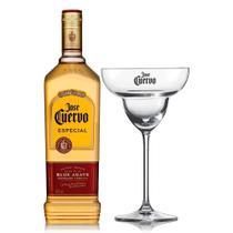 Kit Tequila José Cuervo Reposado C/ Taça de Vidro 750Ml