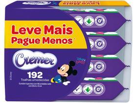 Kit Toalhas Umedecidas Cremer Disney Baby