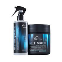 Kit Truss Uso Obrigatório + Net Mask