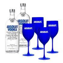 Kit Vodka Absolut Party V