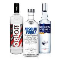 Kit Vodkas do Mundo