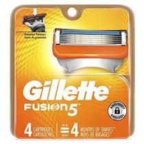 Lâmina de Barbear para Homens Gillette Fusion5 - 4 Unidades