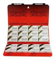 Lâminas De Aço Inoxidável 20x3 Wilkinson Barbear Navalha
