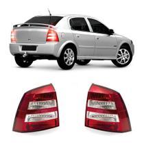 Lanterna Traseira Chevrolet Astra Hatch 2003 a 2011 Arteb Principal Lente Bicolor Modelo Original
