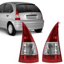 Lanterna Traseira Citroen C3 2006 2007 2008 2009 2010 2011 2012 Bicolor