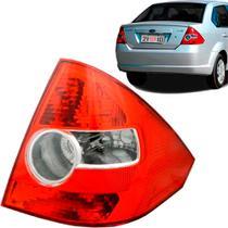 Lanterna Traseira Fiesta Sedan 05 a 10 Ré Cristal Bicolor Ld