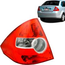 Lanterna Traseira Fiesta Sedan 05 a 10 Ré Cristal Bicolor Le