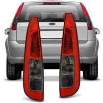 Lanterna Traseira Ford Fiesta Hatch 2010 2011 2012 2013 2014 Fumê