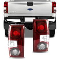 Lanterna Traseira Ford Ranger 2005 2006 2007 2008 2009 Cristal