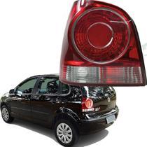Lanterna Traseira Lado Esquerdo Volkswagen Polo Hatch 2007 2008 2009 2010 2011 2012 2013 2014