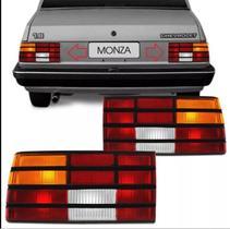 Lanterna Traseira Monza 1988 A 90 Direita Tricolor Friso