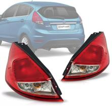 Lanterna Traseira New Fiesta 2011 2012 2013 2014 2015 Hatch