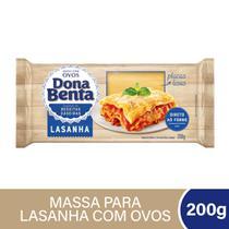 Lasanha Ovos Direto Forno Dona Benta 200g