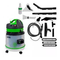 Lavadora extratora aspirador 27l lava pro ipc + kit