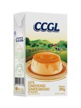 Leite condensado semidesnatado CCGL - 395g - Caixa com 20 unidades