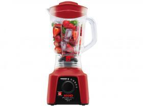Liquidificador Arno Limpa Fácil Power Mix Vermelho