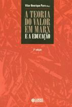 Livro - A teoria do valor em Marx e a educação